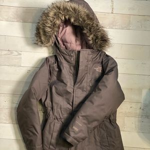 Girls XXS North Face winter Coat